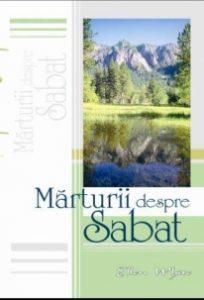 Mărturii despre Sabat autor Ellen G. White - Mesagerul Speranței
